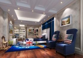 新古典风格简洁儿童房装饰案例
