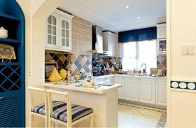 地中海风格米色厨房装修效果图