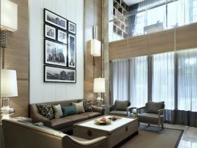 简约大气别墅客厅设计图