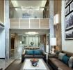 灰色质感现代风格客厅装修图