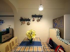 浪漫地中海风格餐厅装修效果图片