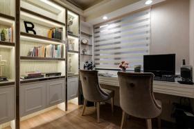2016灰色低调宜家风格书房装修设计