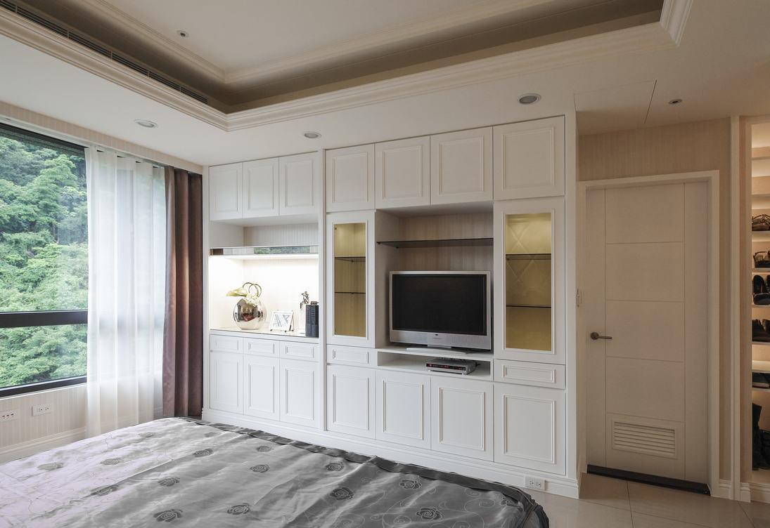 欧式浪漫舒适温馨卧室装潢