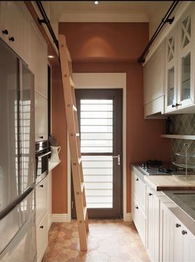 清新宜家风格白色厨房橱柜装修设计