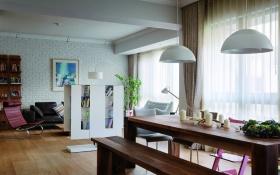 简约舒适餐厅吊顶设计图片