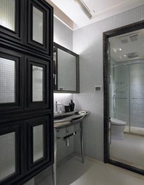 中式简洁卫生间装潢案例