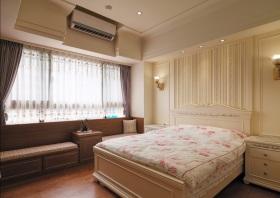 淡雅欧式风格粉色卧室装修设计