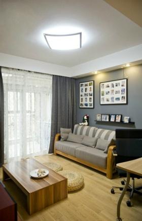 简约风格客厅吊顶装潢设计
