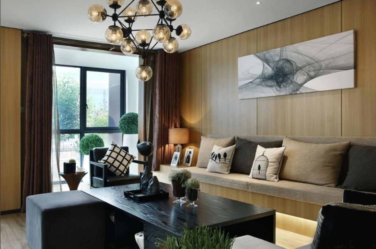 简约风格客厅装潢案例