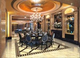 欧式风格餐厅吊顶设计图片