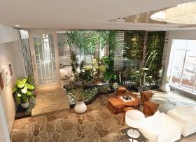欧式风格客厅吊顶美图欣赏