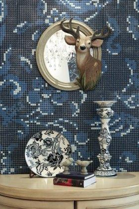 蓝色浪漫唯美可爱欧式装饰物设计赏析