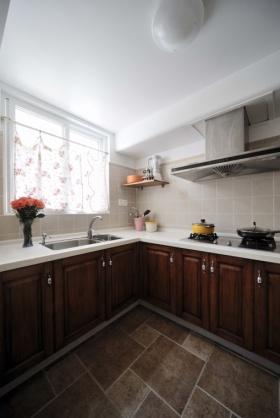 雅致地中海风格厨房橱柜设计装潢