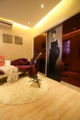 浪漫气质时尚欧式琴房设计装潢