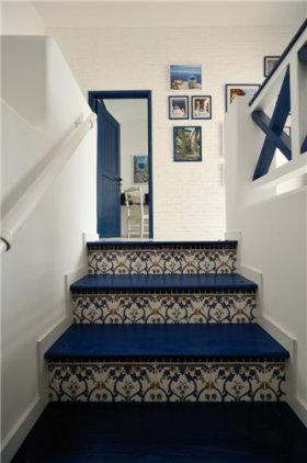 地中海风格楼梯设计效果图