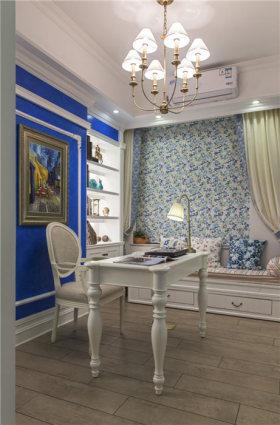 地中海风格书房装饰案例