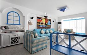 浪漫雅致地中海客厅装修案例