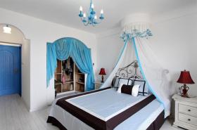 灰色地中海浪漫卧室设计案例