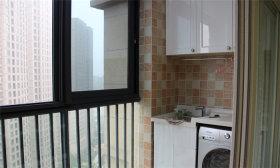 时尚地中海风格阳台装潢设计
