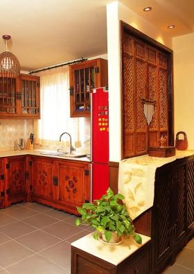 典雅东南亚厨房橱柜设计欣赏
