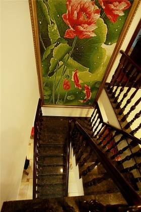 时尚混搭风格楼梯设计