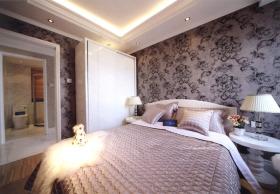 粉色精致浪漫唯美欧式卧室设计欣赏