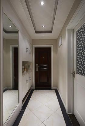 现代精美时尚白色玄关装修