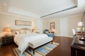 白色中式风格卧室装修设计