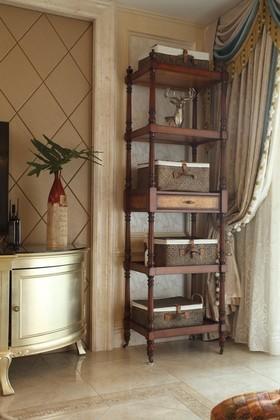 欧式时尚收纳柜设计装潢