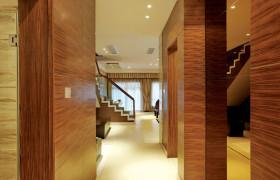 欧式客厅过道装潢设计图