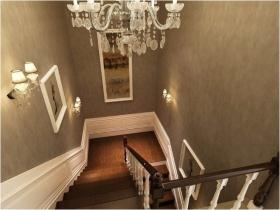 雅致欧式风格楼梯装修效果图