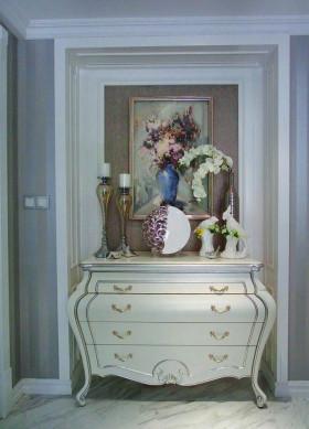浪漫唯美雅致欧式风格鞋柜设计欣赏