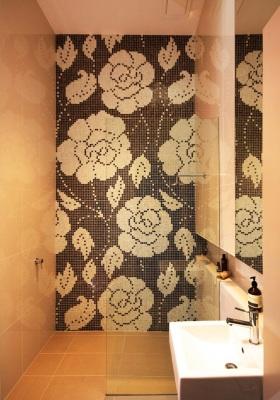 现代时尚风格卫生间装修效果图片