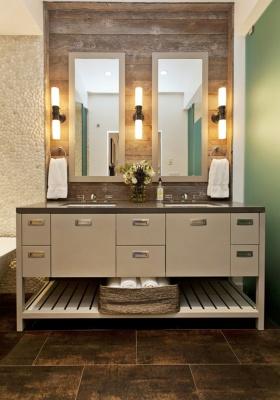 简约风格卫生间浴室柜装修设计
