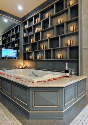 新古典时尚简洁卫生间设计