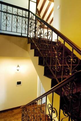欧式田园风格楼梯设计赏析