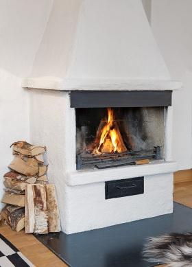 休闲田园客厅壁炉装修效果图