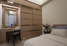 现代风格温馨黄色卧室装饰设计