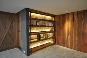 原木色现代风格收纳功能区装潢设计