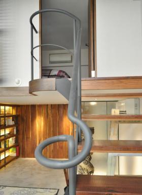 2016地中海风格楼梯设计装潢