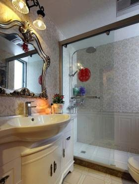 欧式风格卫生间浴室柜装修效果图