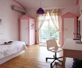 清新地中海风格卧室衣柜设计图片