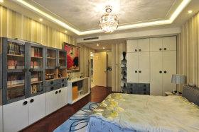 温馨欧式风格卧室衣柜装修设计
