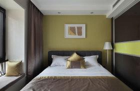 现代风格卧室飘窗装修案例