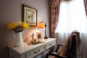 白色田园风桌子装饰美图