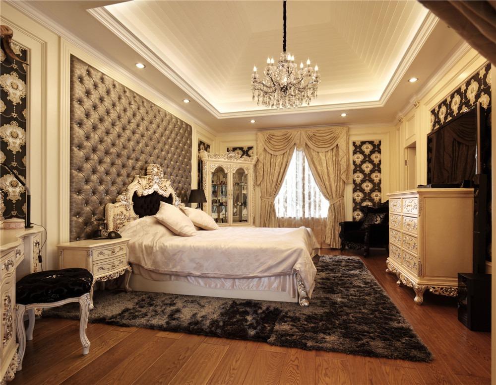雅致欧式风格卧室吊顶图片赏析