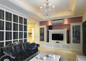 雅致欧式风格客厅吊顶装修效果图