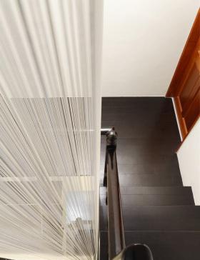 极致黑色简约风楼梯装修美图