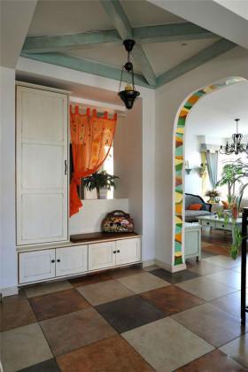 白色浪漫地中海风格收纳柜装修案例