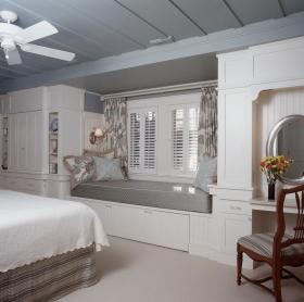美式风格卧室飘窗效果图赏析